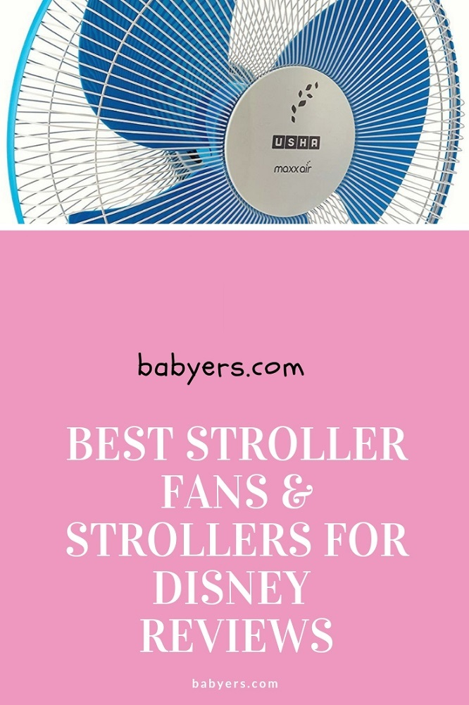 Best Stroller Fans for Disney in 2018 Reviews