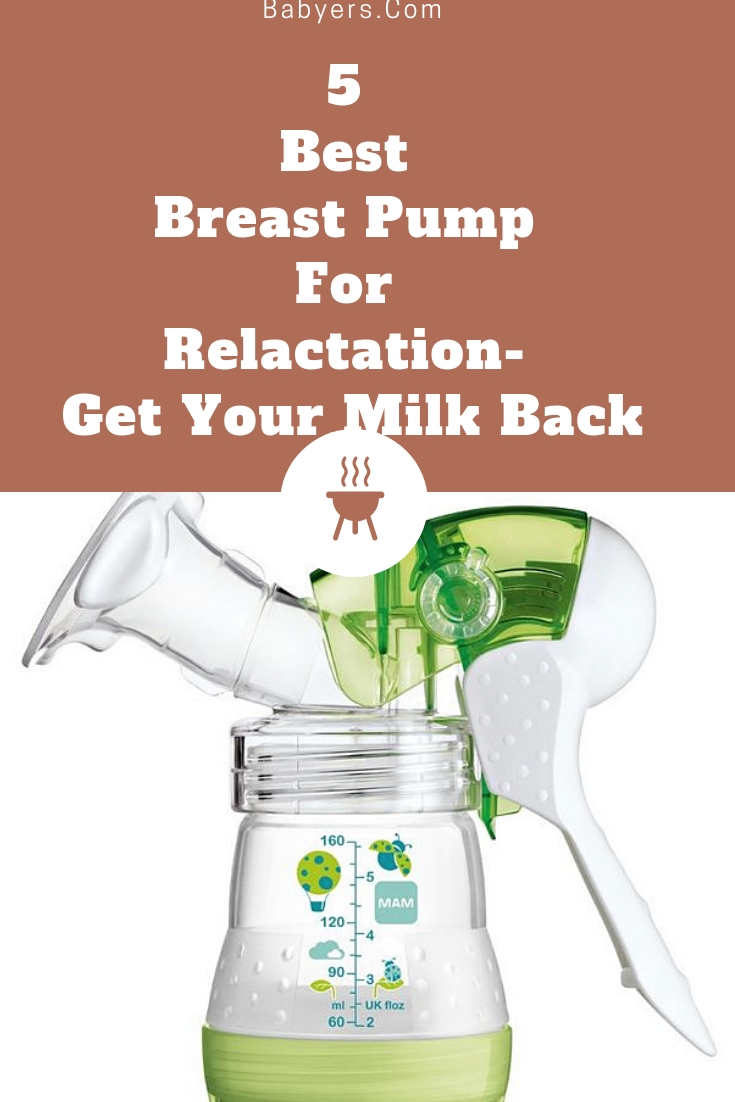5 Best Breast Pump For Relactation- Get Your Milk Back 2019-5066