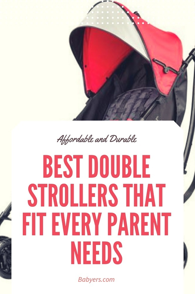 Best Double Strollers That Fit Every Parent Needs