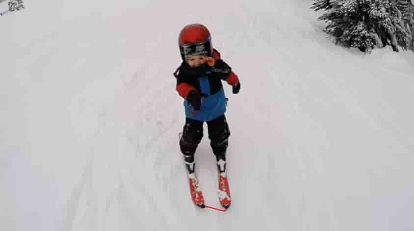 Skiing Or Snowboarding For Toddlers How Do We Decide